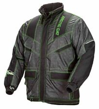 Arctic Cat Men's Iron Dog Snowmobile Coat - Lime / Black - 5250-03_