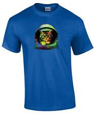 Space Kitten Astronaut Funny Kitten Helmet Cat T-Shirt