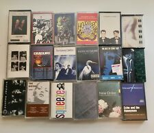 VTG Tape Cassette Lot Indie College Rock Alternative New Order Smiths the church