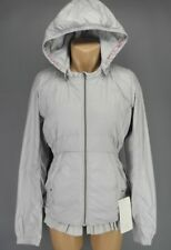 NEW LULULEMON Spring Fling Puffy Down Windbreaker Jacket 4 8 12 Silver Spoon NWT