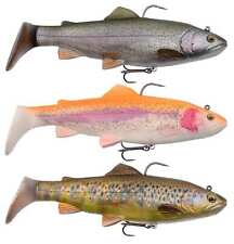 Savage Gear 4D Rattle Trout Swim Bait Shads New For 2018 All Models