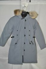 NEW CANADA GOOSE KENSINGTON PARKA MID GREY WOMENS 2506L DOWN COYOTE AUTHENTIC