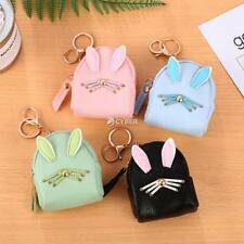 Women Synthetic Leather Cute Rabbit Ear Pattern Coin Purse Wallet with DZ88
