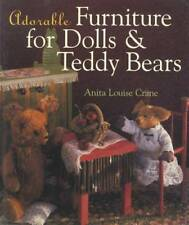 Creating Adorable Furniture for Dolls Teddy Bears Crafting Guide w How-To Steps