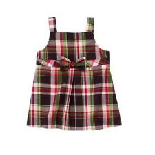 NWT Gymboree Girls Pups and Kisses Plaid Tunic Top Size 9 & 12