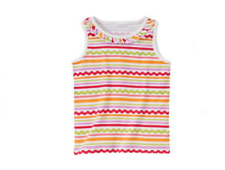 NWT Gymboree Girls Pretty Posies Striped Tank Top Size 3 7 & 8