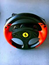 Thrustmaster Ferrari RACING WHEEL RED LEGEND EDITION ~AS  IS PARTS~#4060052