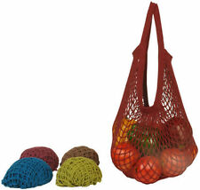 EcoBags Product Organic String Shopping Bag Jewel Tone with Tote Handle