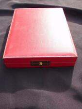 STEUBEN GLASS RED PRESENTATION BOX FOR PENDANT BOX ONLY!