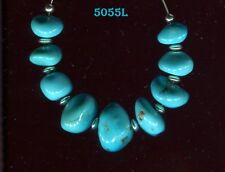 **Sleeping Beauty Mine Turquoise, Arizona, natural untreated loose Beads 5055