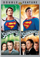 SUPERMAN III / SUPERMAN IV: QUEST FOR PEACE Double Feature 2-Disc DVD Set 3 & 4