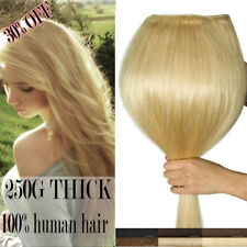 1-2Days Shipping Real Thick Human  Clip in Hair Extensions European Remy Hair AU