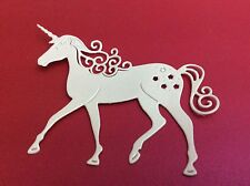 10 TATTERED LACE UNICORN DIE CUTS FOR CHRISTMAS KANBAN TILDA GORGUSS ETC