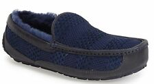 UGG AUSTRALIA MENS ASCOT WEAVE SLIPPER/SHOES NEW