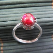 New Design Natural Red Garnet with 925 Sterling Silver Ring Size 4-10