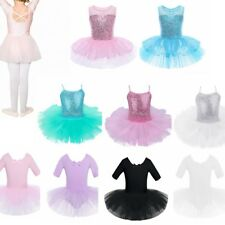 Girl Kid Baby Ballet Tutu Dress Leotard Dancewear Costume Skirt Gymnastic