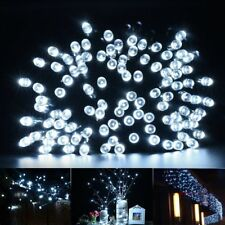 1/2/4/8X LED Fairy String Solar Powered Battery Light Xmas Party Garden Light