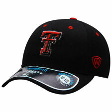 Texas Tech Red Raiders Top of the World Dynasty Memory Fit Fitted Hat - Black