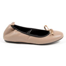 Andrew Charles D121 NAPPA TAUPE ballerina shoes Women's Taupe US