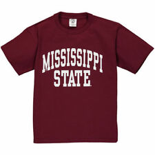 Mississippi State Bulldogs New Agenda Youth Arch T-Shirt - Maroon