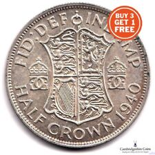 1937 1946 GEORGE VI BRITISH SILVER HALF CROWNS COINS CHOOSE DATES