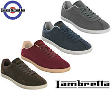 Lambretta Mens Trainers Casual Sports Lace Memory Foam Gazzman Shoes UK 7 - 12
