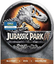 Jurassic Park III (Blu-ray/DVD, Includes Digital Copy Steelbook Only  Best Buy)