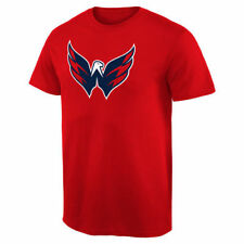 Washington Capitals Fan Big Logo T-Shirt - Red