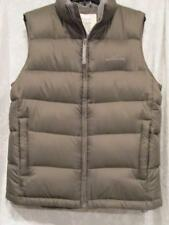 MEN'S EDDIE BAUER GOOSE DOWN VEST SZ S SMALL WINTER  ARMY GREEN NWT