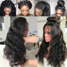 Brazilian Remy Human Hair Lace Front Wigs Natural Wavy Real Human Hair Wigs 130%