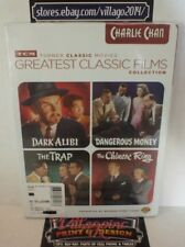 Tcm Greatest Classic Films: Charlie Chan DVD. new free shipping