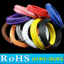 16 18 20 22 24 26 28 30 AWG Stranded UL1007 RoHS Cable Wire Cord hookup Flexible