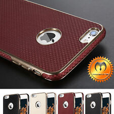 Ultra Thin Luxury Hybrid Leather Slim Protective Case Cover For iPhone 7/7 Plus