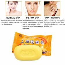 1/5/10 Pcs Exfoliation Body Cleansing Product Sulfur Soap Anti Acne Skin Care