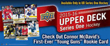 2015-16 Upper Deck Series One 1-250 Includes Young Guns Pick From List