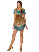 Cheeky Cherokee Indian Native American Pocahontas Teen Women Costume