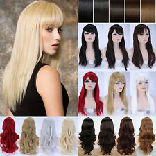 Cosplay Costume Wig Fancy Halloween Curly Wave Straight Synthetic Hair Full Wigs
