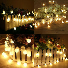 5M 50LED String Fairy Lights Lamps  Remote Control Christmas Wedding  In/Outdoor