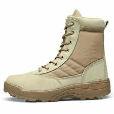 Desert Tactical Military Boots Mens Work Safety Shoes SWAT Army Ankle Combat