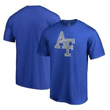 Air Force Falcons Fanatics Branded Static Logo T-Shirt - Royal