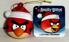 ANGRY BIRDS RED BIRD CHRISTMAS ORNAMENT