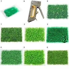 New Artificial Turf Simulation Green Plants Fake Lawn Landscaping Wall Grass Mat