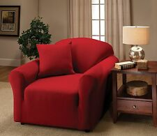 JERSEY COVERS (CHAIR/SOFA/LOVESEAT/RECLINER)--RED--