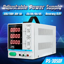 30V 5A DC Power Supply Adjustable Switching Regulated Digital Display 110V/220V