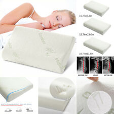 Anti Bacterial Bamboo Memory Foam Pillow Orthopedic Head Neck Support Cushion A4