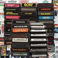 Atari 2600/7800 Game Module Instructions Collection