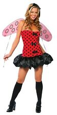 Sexy Roma Halloween Adult Lady Bug Costume w Wings