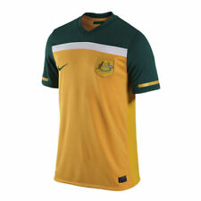 Nike Australia Official World Cup WC 2010 Soccer Home Jersey New Yellow