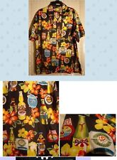 NEW HAWAIIAN BEERS HAWAIIAN SHIRT with sunglass lp  size M L or XL by ROUNDY BAY