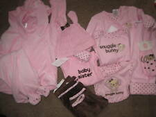 NWT GYMBOREE BUNNY BABY GIRL GIFT 3-6-12-18 HAT CLOTHES